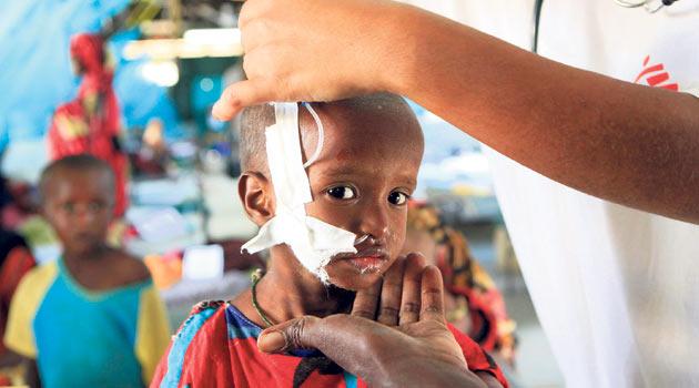 Somali'ye ilk gönüllü doktor