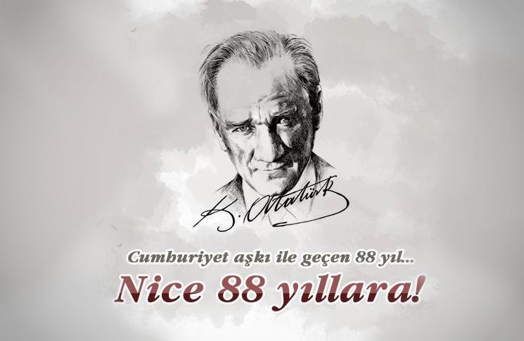 Cumhuriyet'te 88 yıl !!!