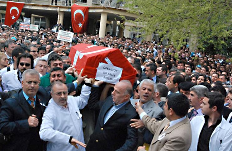 Sıra Cenaze Masraflarını Ödemek mi?  Artık Şiddet İstemiyoruz !!!